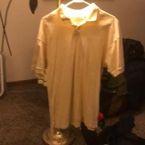 """XXL - Yellow - Claiborne """"Polo"""" Shirt"""